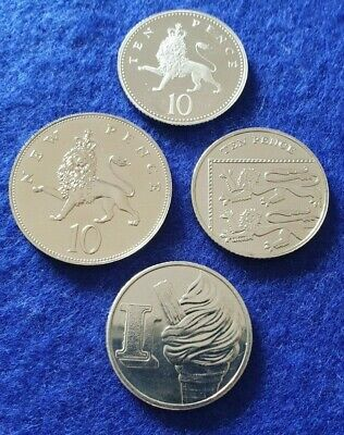 10p Pence Coin Various Years / A-Z Alphabet - Proof / BU / BUNC / Circulated