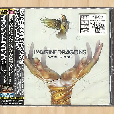 +8 BONUS TRACKS----> IMAGINE DRAGONS Smoke + Mirrors JAPAN CD Battle Cry    0108