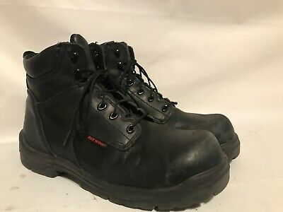 c9cb6a634f3 $190 + TAX pair of Red wing steel toe work boots Mens 11.5 Wide New ...