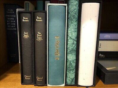 Dean Koontz — Set of 5 signed Limited Charnel House Editions