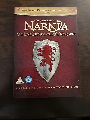 Disney Chronicles of Narnia The Lion, the Witch and the Wardrobe. 2 Disc DVD Set