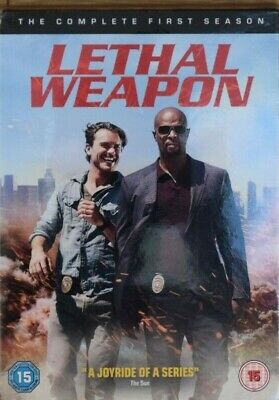 Lethal Weapon Season 1 Dvd Brand New And Sealed