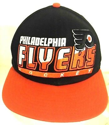 wholesale dealer e4150 d3352 Vintage Philadelphia Flyers NHL Hockey Corduroy Black Snapback Hat Cap
