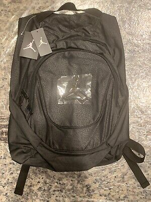 1d2fc326663 NIKE Air Jordan JUMPMAN Black Elephant Backpack Laptop Bag 9A1118 KK2 $50  NEW