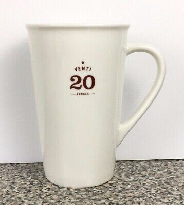 Starbucks Coffee Co. Mug Venti 20 Ounces Cup 2010 EST. 1971