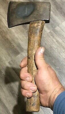 MIDGET 1940-60s 1LB PLUMB USA 1LB HATCHET TOMAHAWK WOOD CUTTER AXE EXCELLENT