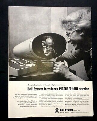 Life Magazine BELL SOUTH AMERICAN TELEPHONE & TELEGRAPH COMPANY 1964 Ad
