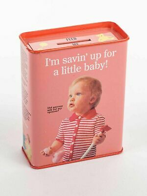 Blue Q - Saving Up For A Baby Bank Tin!! Free Shipping!!!