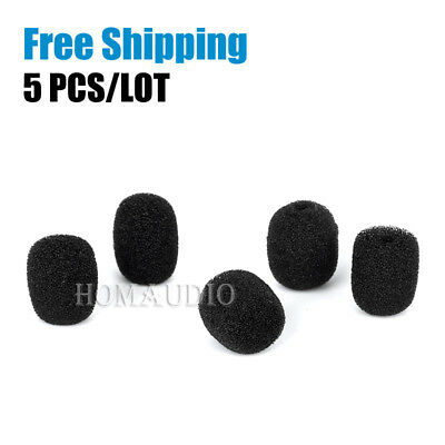 Microphone Windscreen Sponge Pop Filter Foam For Saramonic UwMic9 TX9 SR-WM4C