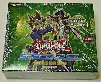 YuGiOh Speed Duel Arena of Lost Souls booster box 1st Edition Factory Sealed New