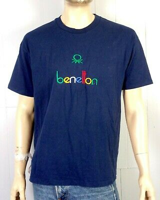 85afce5003a vtg 80s 90s single stitch BOOTLEG United Colors of Benetton T-Shirt hip hop  XL