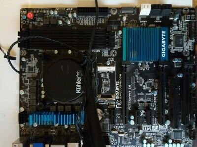 i7 3770, Gigabyte ga-z77x-ud3h and Antec AIO Water cooler Combo