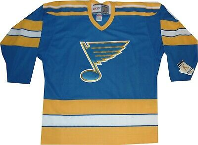 d84575755 St Louis Blue 550 Vintage Throwback Blue Jersey RARE $150 LARGE New with  tags