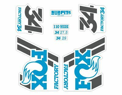 FOX 34 Float 2018-19 Forks Suspension Factory Decal Sticker Adhesive Pale Gold