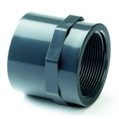 PVC Adaptor.   Metric Solvent Weld x Female BSP Thread.   WRAS Approved.