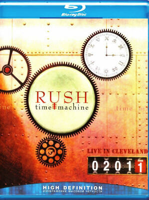Rush - Time Machine Live in Cleveland 2011 Blu-Ray