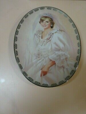 PRINCESS DIANA.The People's Princess collector plate.1997.