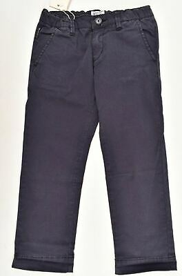 ARMANI JUNIOR Boys' Kids Navy Blue Chinos / Pants / Trousers, size 4 years