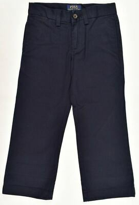POLO RALPH LAUEN Boys' Kids Chinos Pants Trousers, Navy Blue, size 6 years