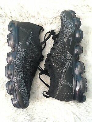 Nike Air Vapormax Flyknit 2.0 Black Dark Grey Anthracite 942842-012 SZ 11