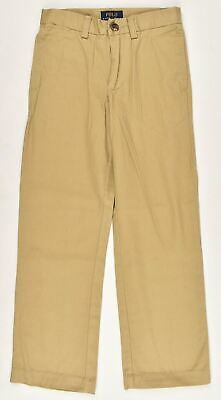 POLO RALPH LAUEN Boys' Kids Chinos Pants Trousers, Khaki, size 6 or 16 years