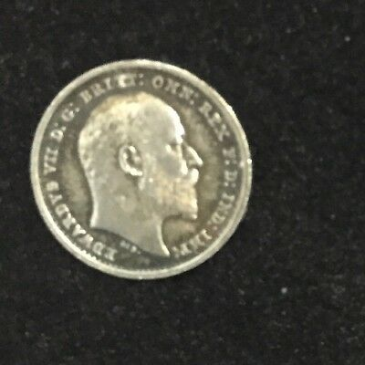 1902 Maundy Twopence Edward VII Very High Grade