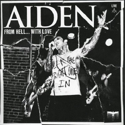 AIDEN From Hell With Love (2009) 14-track CD + DVD album NEW / SEALED