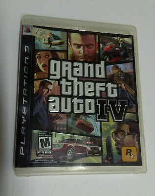 PS3 Grand Theft Auto IV, GTA 4, Game + Case