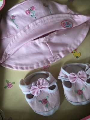 Baby Born Dolls Sunhat And Shoes