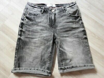 really cheap newest differently CECIL 372198 NEW YORK Denim Short Loose Fit niedriger Bund ...