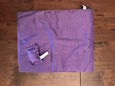 doll bedding for 18 inch american girl blanket pillow set purple tie dye lace