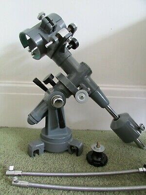 Japanese 1960's Grey Enamel Equatorial  Mount,complete with 60mm Cradle