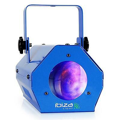 Jeu De Lumiere Couleur Effet Moonflower Ibiza Led Light Discoverlichting Blauw