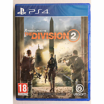 The Division 2 (PS4) Tom Clancys New and Sealed
