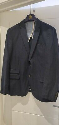 Next Mens Blue Blazer Jacket Size 44R