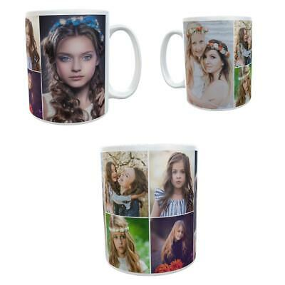 Personalised Mug Up To 6 Photos Collage Cup