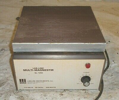 Lab-Line Instruments Multi-Magnestir 1262 - Needs New Cord