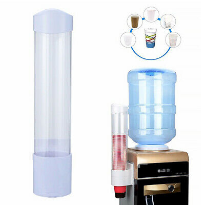 60 Cups 5-7.5cm Paper Cup Dispenser Plastic Holder Anti Dust Auto Cup Holder