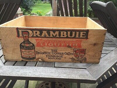 Vintage Drambuie Wooden Box/crate
