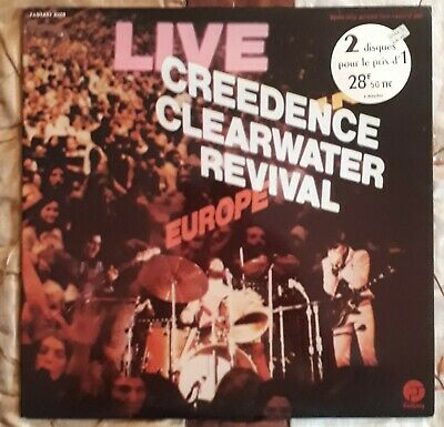LP (x2) Creedence Clearwater Revival - Live in Europe (1971) Fantasy 6009  NM/NM