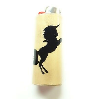 Unicorn Lighter Case Holder Sleeve Cover Fits Bic Lighters