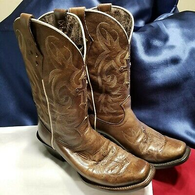 9d26d1cf5cc WOMENS ARIAT 8.5 Boots Legend Spirit Western Cowgirl Brown Leather