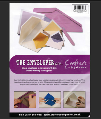 Crafter's Companion The Enveloper Pro Envelope Maker Board and Scoring Tool = B