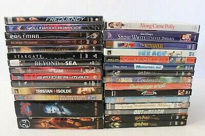 Lot of 28 New and Excellent Condition Assorted DVD Movies Mixed Set Bulk