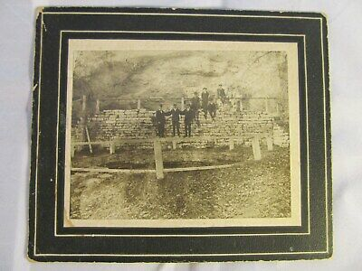 Original Antique Vintage Giant Spring Cave Filmore County Mn Photo Late 1800s