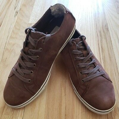 2ce4341843c $120 NIB MENS Ugg Vanowen Grizzly Leather Suede/Brown 12 Shoes Lace ...