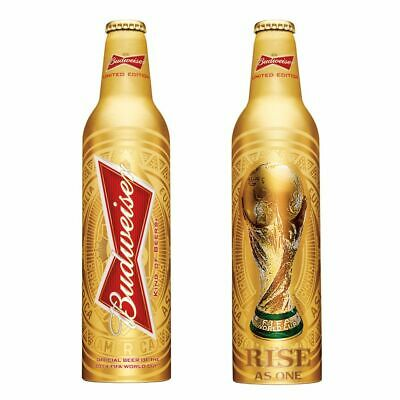 Budweiser 2014 FIFA World Cup Soccer limited edition aluminium bottle