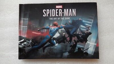 Marvel's Spider-Man PS4 Artbook - The Art of The Game Sipder-Man PlayStation 4.
