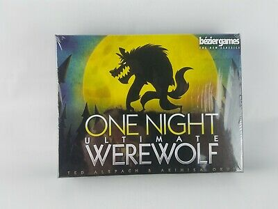 One Night Ultimate Werewolf Party Board Game Bezier Games