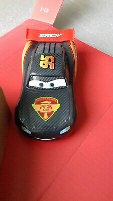 CARRERA GO!!!  CARBON LIGHTNING McQUEEN  WITH UNDER BODY LIGHTS   p